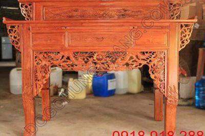 Trang thờ 2 tầng gỗ tràm