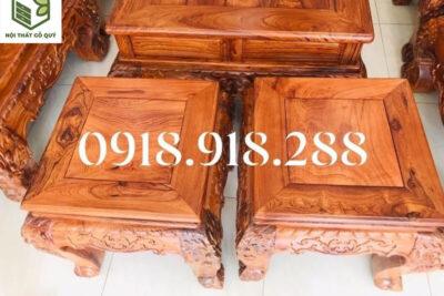 3 Cách lựa chọn nội thất phòng khách làm từ gỗ quý